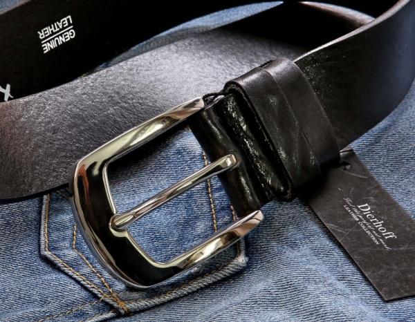 Хороший мужской кожаный ремень пуховик с кожаным ремнем